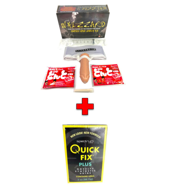 The Whizzard Fetish Urine Kit And Quick Fix Plus Combo